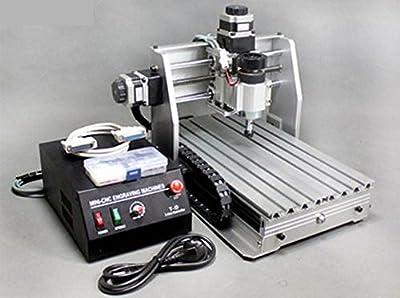 ZJchao(TM) 110V 220V CNC 3020T-DJ upgrade from 3020T Router Engraver 230W 11000RPM Machine