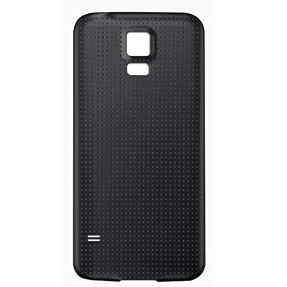 the best attitude b8726 de28c GreatQIQI Samsung Galaxy S5 Replacement Back Cover, Plain Housing Battery  Cover for Samsung Galaxy S5 (Black)