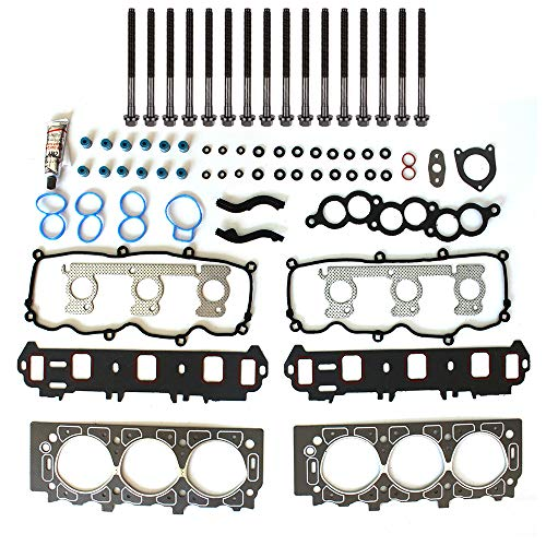cciyu Engine Head Gasket Set w/Boltst Replacement fit for 01-07 Ford Taurus Mercury Sable (HS9885PT-5)
