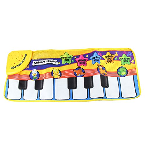 dzt1968 1 pc Hot Selling Baby Animal Voice Piano Touch kick Play Game Carpet Mat Musical Toy
