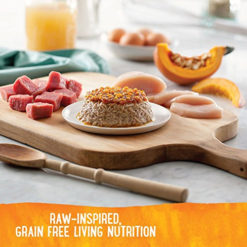 Image of Wellness Trufood Tasty Pairings Natural Grain Free  Wet Raw Dog Food, Chicken, Pumpkin & Beef, 5-Ounce Cup (Pack Of 24)