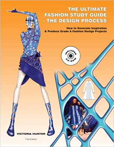 The Ultimate Fashion Study Guide The Design Process--Book and CD-ROM 1st Edition