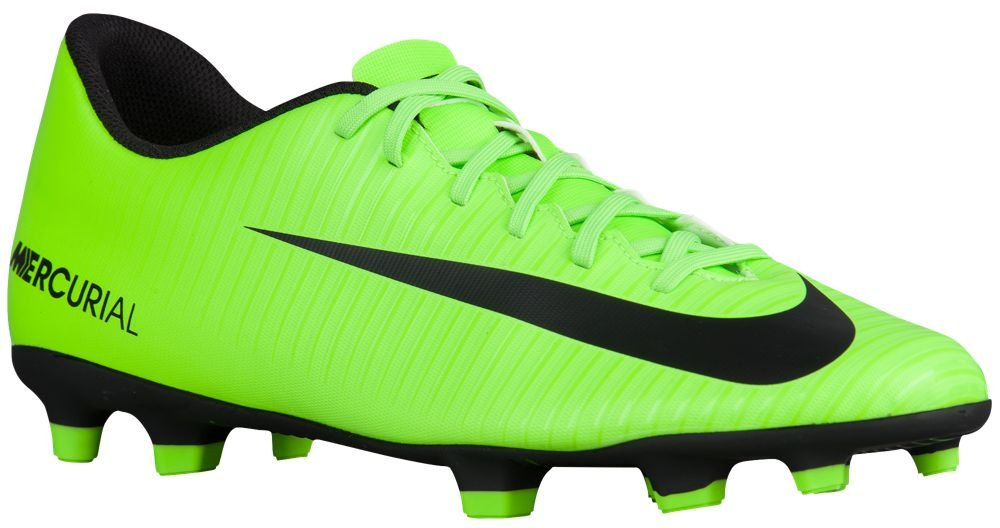 [ナイキ] Nike Mercurial Vortex III FG - メンズ サッカー [並行輸入品] B0723DBV7W US12.0 Electric Green/Black/Flash Lime/White