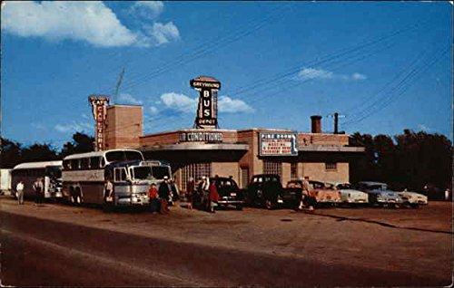 (Reg & Andy's Cafe, Greyhound Bus Depot Rolla, Missouri Original Vintage Postcard)