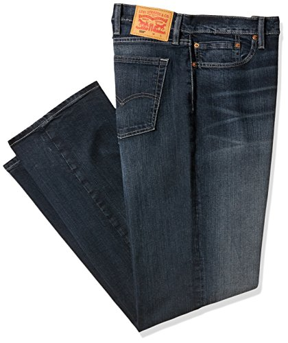 Levi's Men's Big and Tall 559 Relaxed Straight Fit Jean, Navarro-Stretch, 46Wx30L