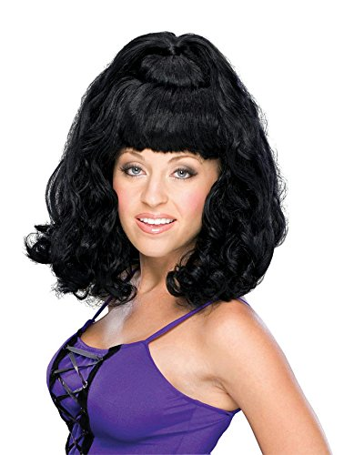 Rubie's Costume Spicy Girl Adult Wig, Black, One - Costume Scary Girl Spice