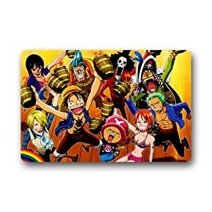 "fashiom Custom popular Anime One Piece antideslizante Doormats 23.6 ""(L) X 15,7 (W)"