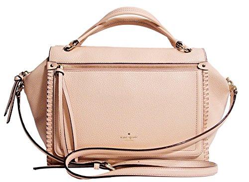 Kate Spade Ashby Place Abbot Large Satchel Handbag - Antlsbubbl ( Light Pink ) by Kate Spade New York