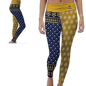 Point University Skyhawks Womens Yoga Pants Christmas Party Design (XL)