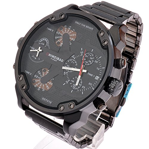 Amazon.com: SHIWEIBAO mens watches sports watch quartz-watch Strip dress reloj militar wrist watches: Watches