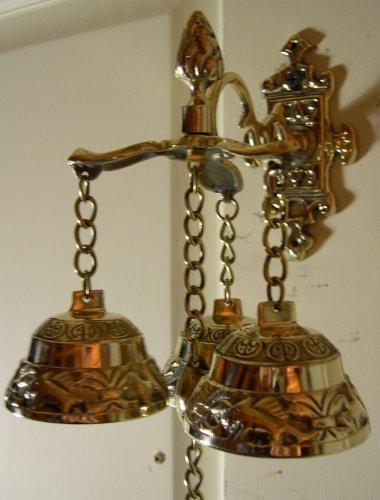 door doors hand finish bell doorbell roanoke by pin in mechanical antique front