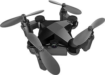 Mini Drone con 480P Camara, 2.4GHz ,Conexión WiFi, Control de la ...