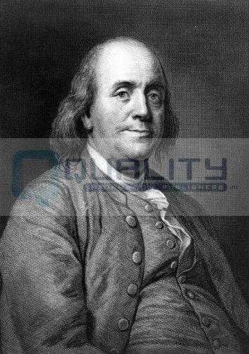 Benjamin Franklin Portrait [16 x 20 - Invention Of The Bifocals