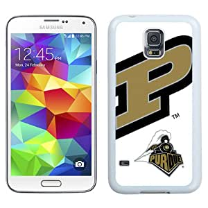 Beautiful And Popular Designed With Ncaa Big Ten Conference Football Purdue Boilermakers 6 Protective Cell Phone Hardshell Cover Case For Samsung Galaxy S5 I9600 G900a G900v G900p G900t G900w Phone Case White