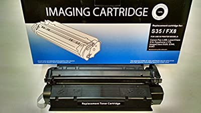 S35 or FX8 Universal Canon Laser Cartridge, Yields 3,500 pages, Canon imageclass D320, D340, D383, Canon FAX- 170, Canon ImageCLASS D320, ImageCLASS D340, FAXPHONE L170, FAXPHONE L400, LASER CLASS 510