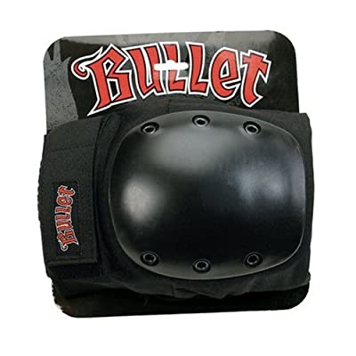 Bullet Knee Pad, Black, Large : Skate And Skateboarding Knee Pads : Sports & Outdoors