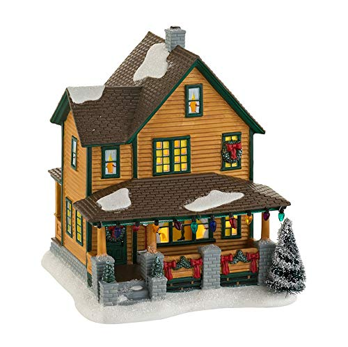 Department 56 A Christmas Story Ralphie's House Lighted Building #4029245]()
