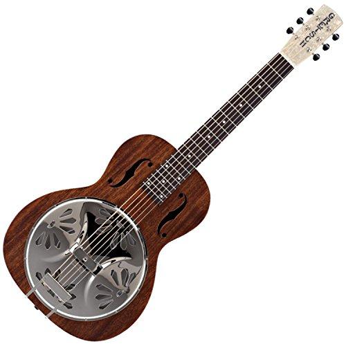 Neck Dobro Guitar (Gretsch G9210 Boxcar Square-Neck Resonator Guitar - Natural)