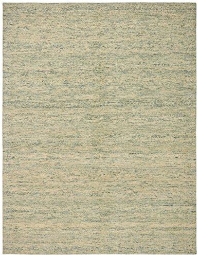 Stone & Beam Contemporary Speckle Wool Area Rug, 4 x 6 Foot, Seafoam