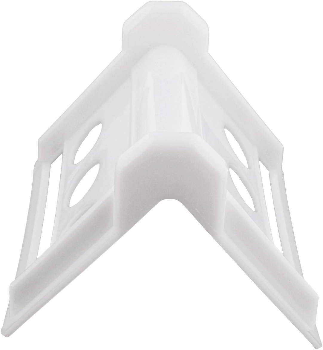 Corner Strap Protector Corner Protector Cargo Strap Protectors BISupply Cargo Edge Protectors White 10 Pack