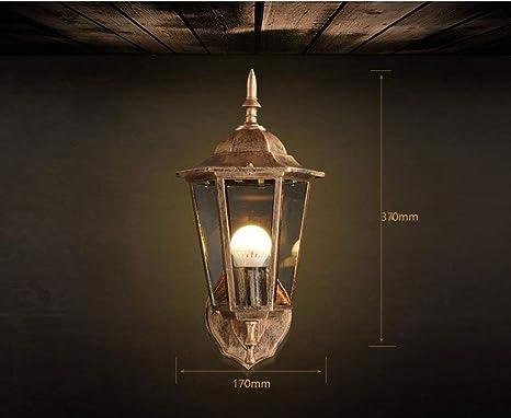 Bd lampada da parete applique da parete industriale impermeabile