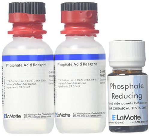 LaMotte R-3121-01 Phosphate Test Kit, for Refill, Low Range ()