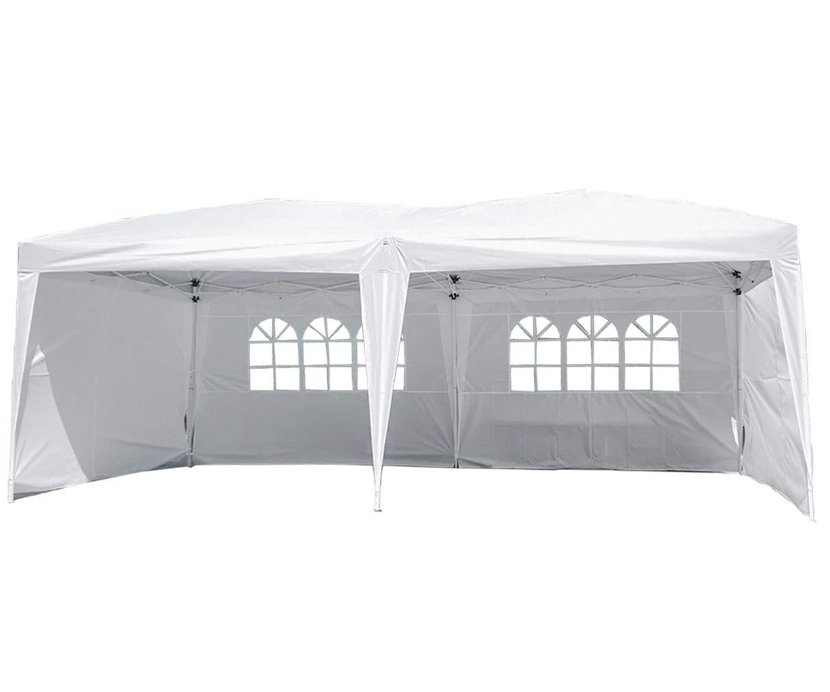 Ez Up Canopy 10x20 >> Amazon Com Party Tent Pop Up Canopy 10x20 Canopy Sun Ez Up Canopy