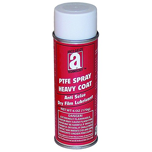 ANTI-SEIZE TECHNOLOGY 17080 PTFE Spray, Heavy Coat, 6 oz Aerosol Can