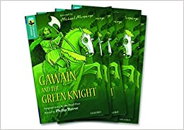 Book Oxford Reading Tree TreeTops Greatest Stories: Oxford Level 16: Gawain and the Green Knight Pack 6