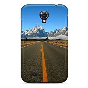 Special Design Back Road Phone Case Cover For Galaxy S4