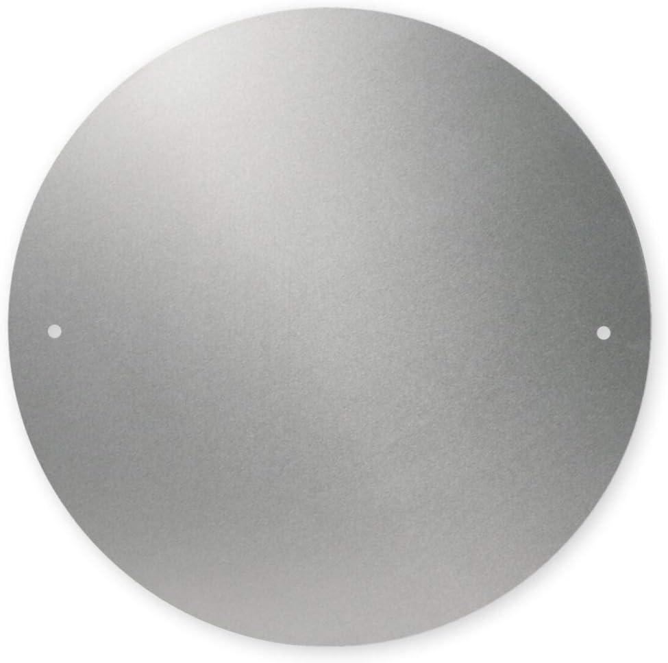 mit oder ohne Bohrungen 200 mm Durchmesser Frankreich passend f/ür Deutschland bruchsicher Italien ohne Bohrungen 3 mm Dicke Geschwindigkeitsschild-Halterung aus Aluminiumverbundmaterial