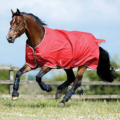 - Horseware Amigo Hero Turnout Sheet 81 Red/White