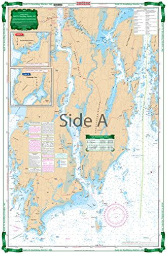 (Waterproof Charts, Large Print, 102E Bath To Boothbay Harbor, ME)