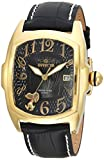 Invicta Men's 'Character Collection' Quartz Stainless Steel and Leather Casual Watch, Color:Black (Model: 25025)