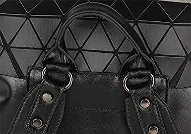 Geometric Backpack Holographic Backpack Most Bao Bagpack Travel Bag