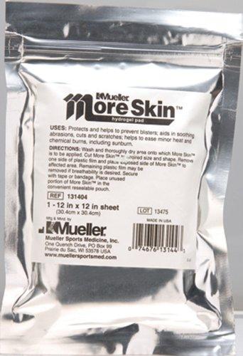 Mueller More Skin Hydrogel Dressing, Non-Medicated, Non-Sterile 12