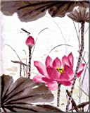 Diy oil painting, paint by number kit- Chinese Ink