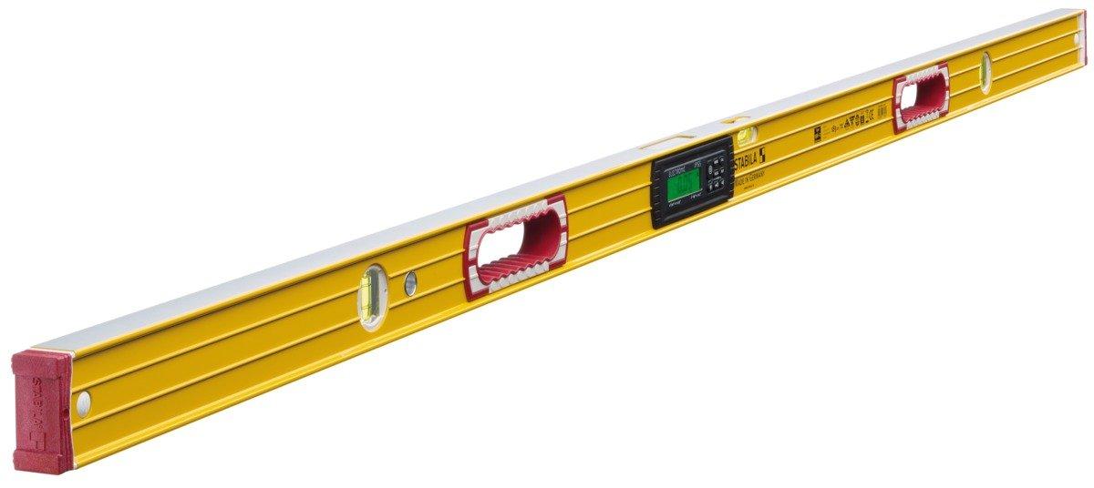 mit 2 Digital-Displays und Wasserwaagen-Tasche STABILA Elektronik-Wasserwaage TECH 196 electronic IP 65 81 cm