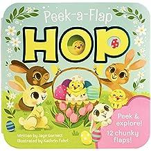 Hop - Easter Peak-a-Flap Board Book (Peek-A-Flap Board Book)