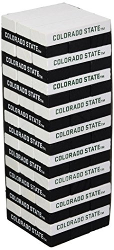 Wild Sports NCAA College Colorado State Rams Table Top Stackers Game
