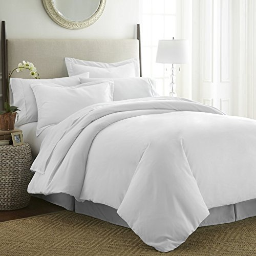 Supreme 1500 Thread Count 100% Egyptian Cotton - Genuine Soft 1500 TC 4Pc Sheet Set King White Solid Deep Pocket 15