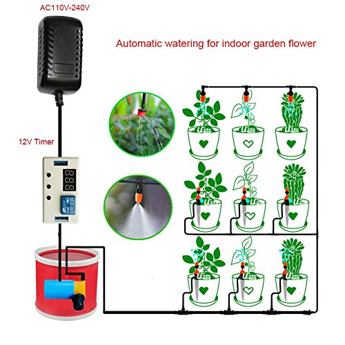 New Automatic Watering System Timer Device for Home Indoor Balcony Garden Flower Potted Plants Irrigation