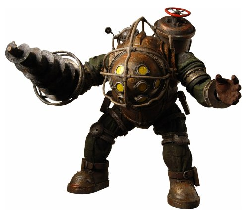 BioShock 2: Big Daddy Ultra Deluxe Action Figure (Bioshock Big Daddy Ultra Deluxe Action Figure)
