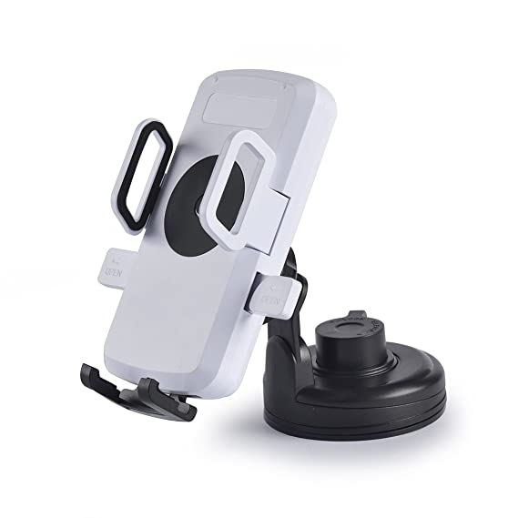 Amazon.com: Ycskj C1 Qi Wireless Charger Car Mount Holder ...