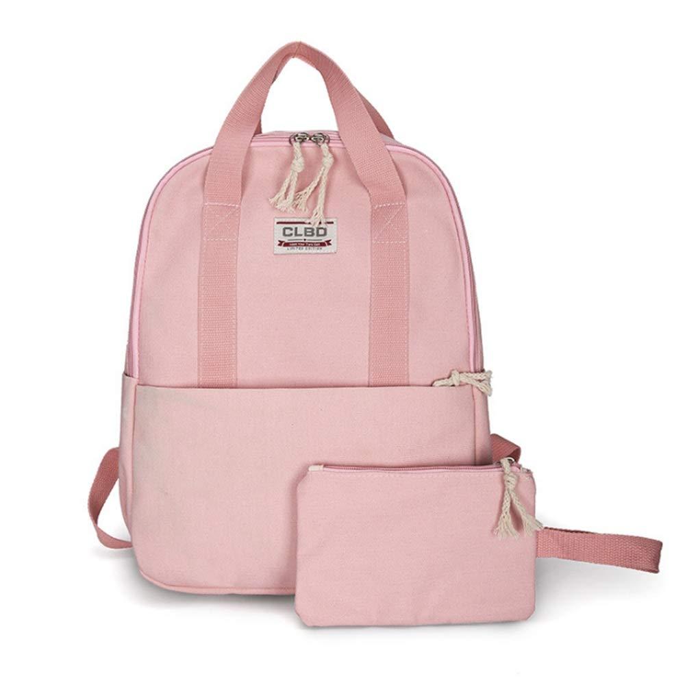 Borsa da scuola degli studenti Bookbag della scuola della borsa della borsa a tracolla delle ragazze di anni dell'adolescenza fissata per uso quotidiano di viaggio Zaini leggeri per studenti