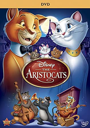 the aristocats movie dvd