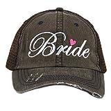 Katydid Bride Women's Trucker Hat-Brown