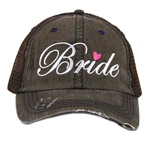 Katydid Bride Women's Trucker Hat-Brown by Katydid