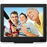 Photo : Nixplay Edge 8-Inch Wi-Fi Cloud Digital Photo Frame with Hi-Res Display