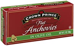 Crown Prince Anchovies are prepared using the oldest known method of preserving food - salt curing. We use only the highest quality fresh anchovies available. After curing, workers clean and pack them by hand in pure olive oil. The quality of...